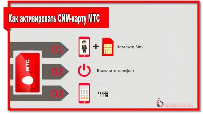 Понятия не имеете, как активировать СИМ-карту МТС? Если номер не был активирован автоматически, сразу после включения телефона наберите *111#.